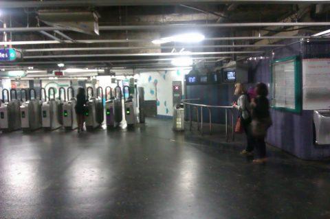 Przerywnik: paryskie metro