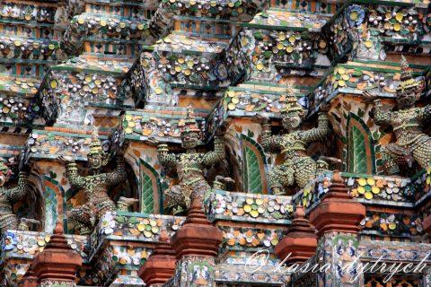 Wat Arun – Świątynia Świtu w samo południe